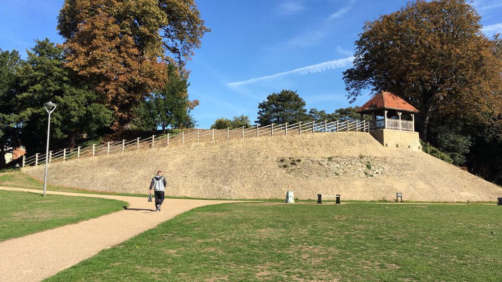 Bedford Castle. Bedford