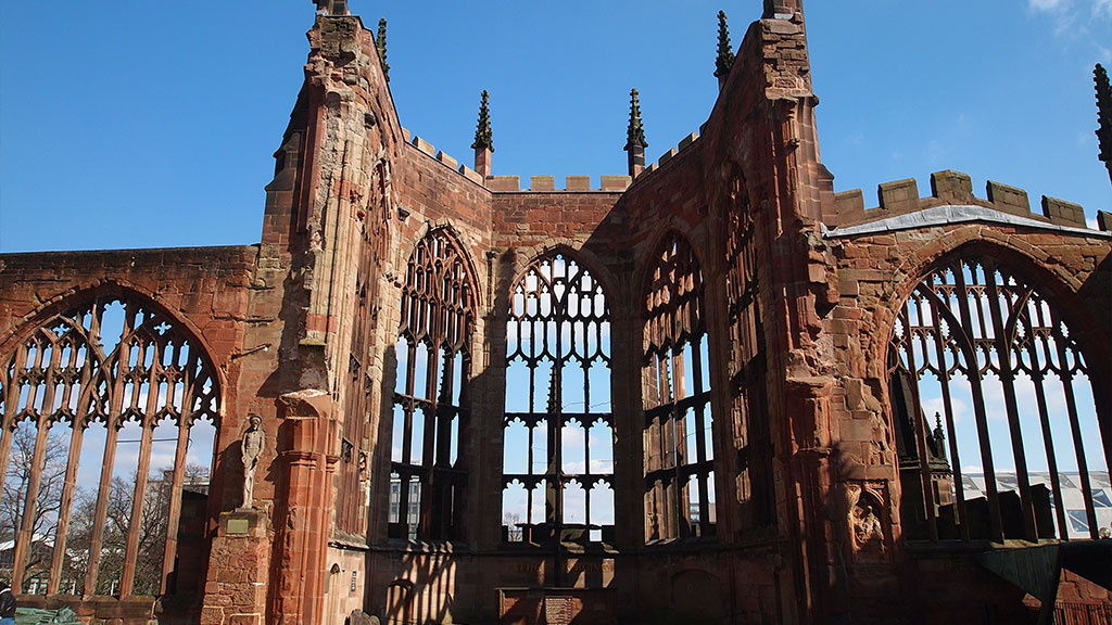 Coventry Cathedral. vision