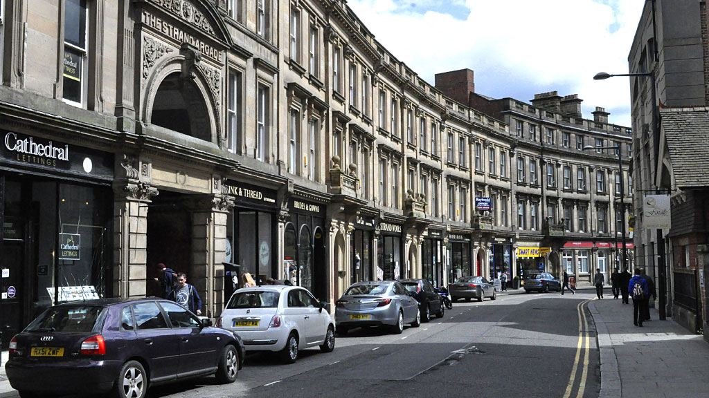 Derby city. silkmill 1point3creative