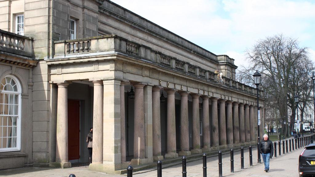 Royal Pump Rooms. museum