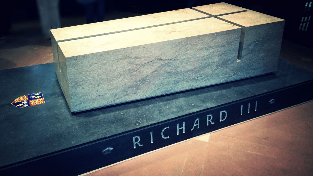 Coffin of King Richard 3rd