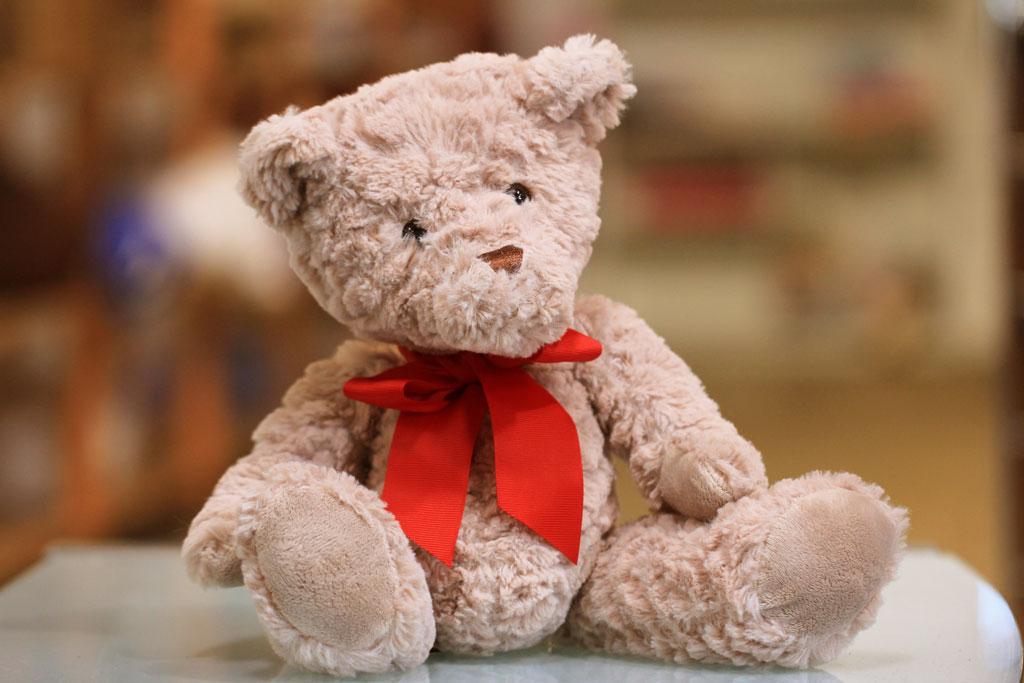 teddy bear, charity program 1point3creative